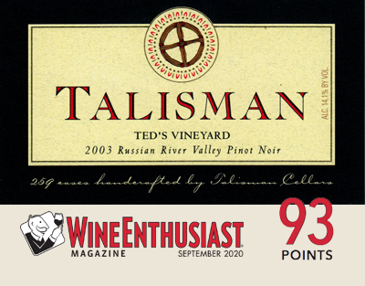 Product Image for 2003 Ted's Vineyard 3L