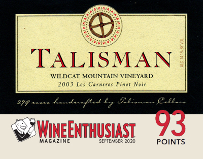 Product Image for 2003 Wildcat Mountain Vineyard 3L