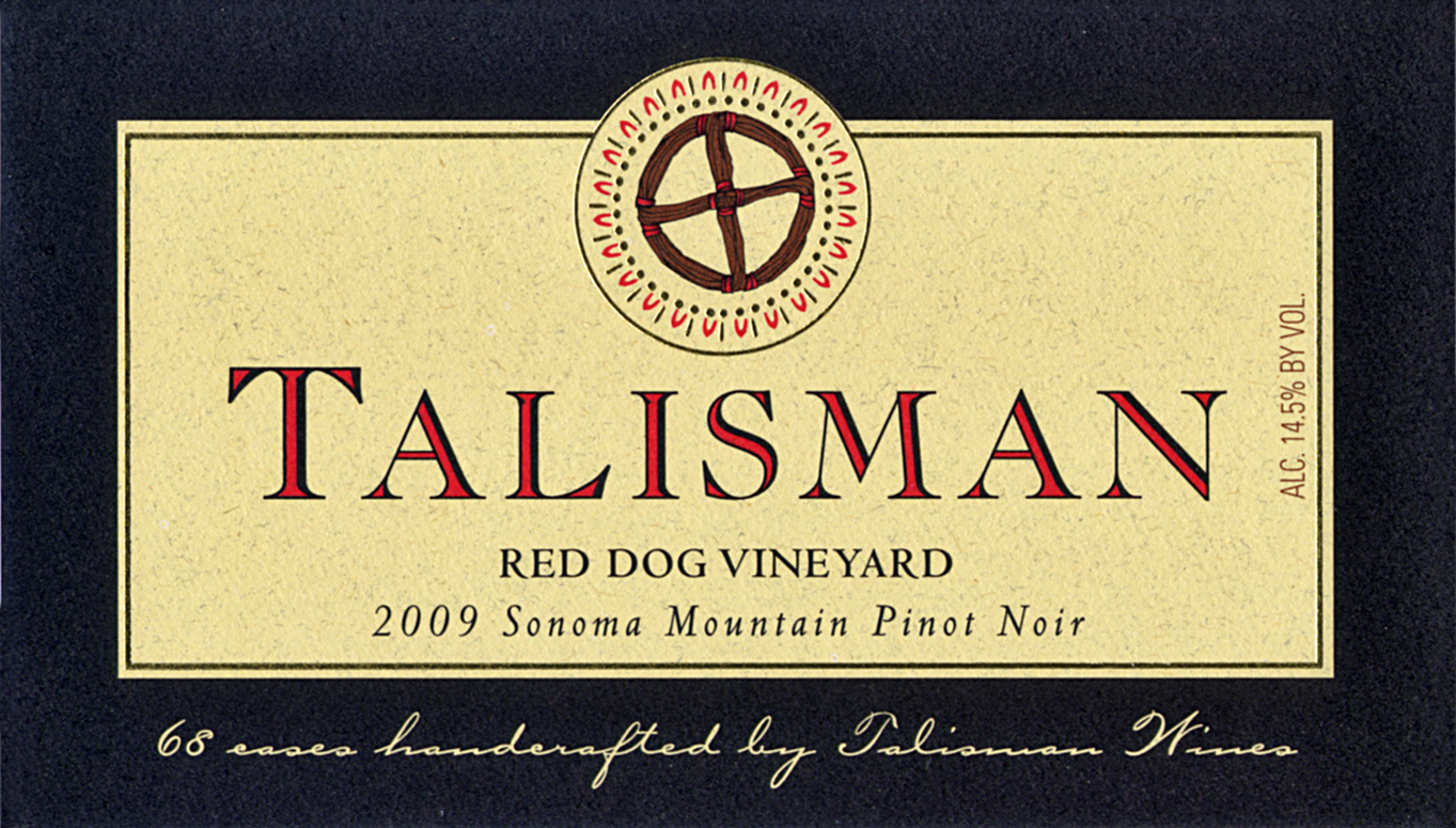 2009 Red Dog Vineyard / Sonoma Mountain Pinot Noir Product Image
