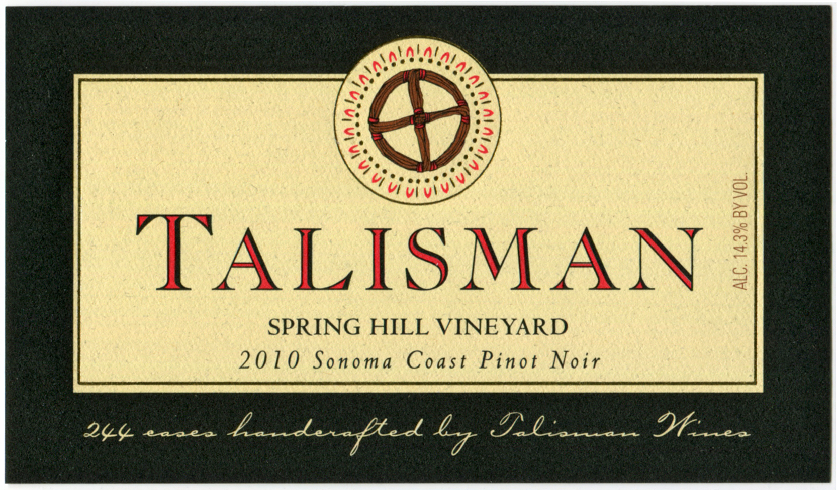 Product Image for 2010 Spring Hill Vineyard / Sonoma Coast 3L