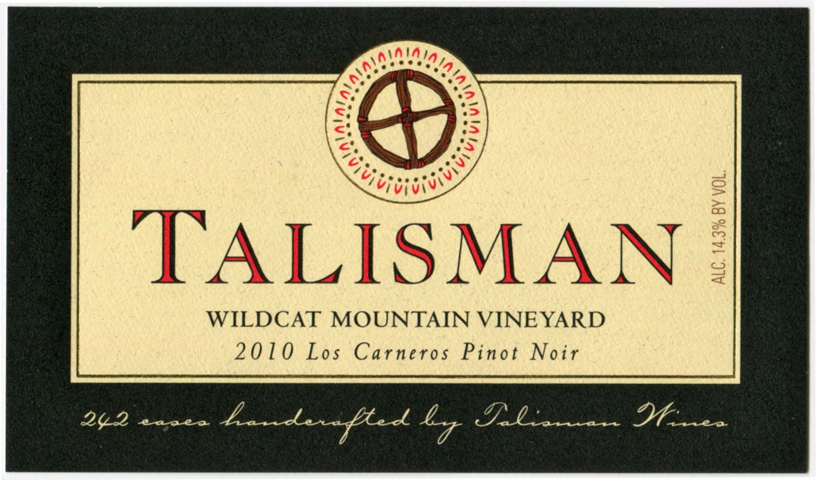 2010 Wildcat Mountain Vineyard / Los Carneros Pinot Noir Product Image