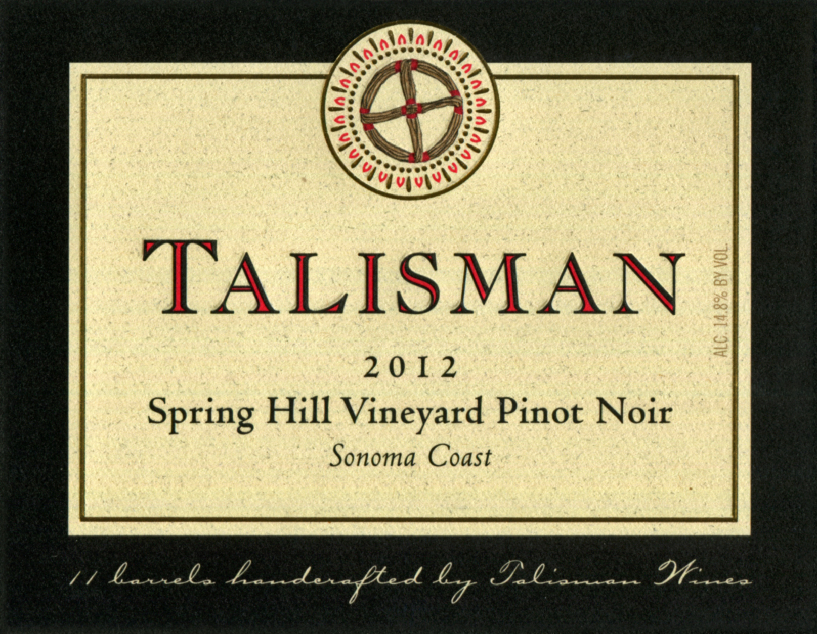 Product Image for 2012 Spring Hill Vineyard Pinot Noir 3L